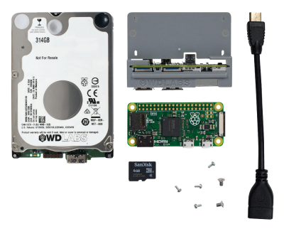 WD PiDrive Node Zero Disassembled