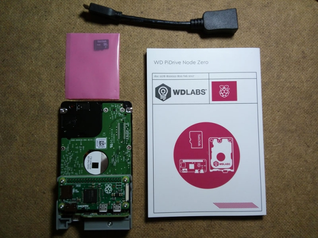 WD PiDrive Node Zero Kit