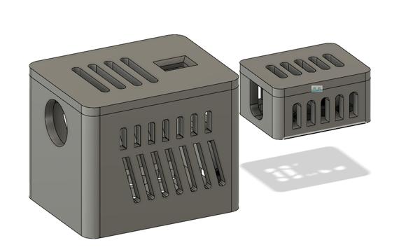 Project Box Fusion 360 Model