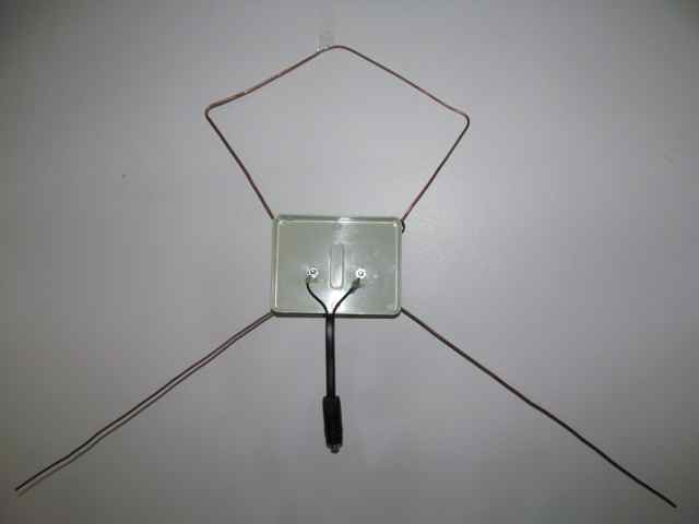 Stealth Hawk Antenna Back Overview