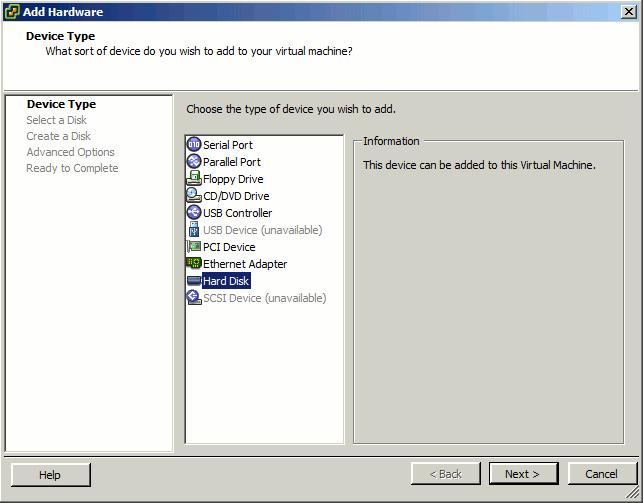 unRAID VM Properties Add Disk