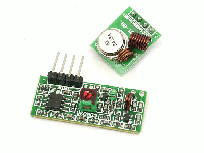 433Mhz Transmitter and Receiver
